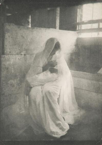 Gertrude Käsebier, 'The Manger', 1899