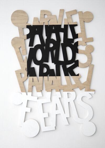 Gerard Koek, 'Words 57 (Dazzle Dialectics 4)', 2016