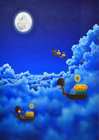 Shiro Utafusa, 'Full Moon', 2019