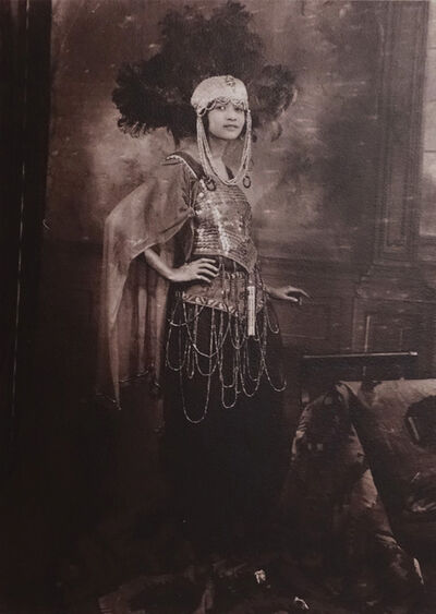 James Van Der Zee, 'IX: Dancer, Harlem', 1925