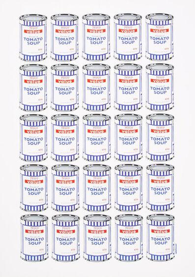 Banksy, 'Tesco Value Cream of Tomato Soup, poster', 2006