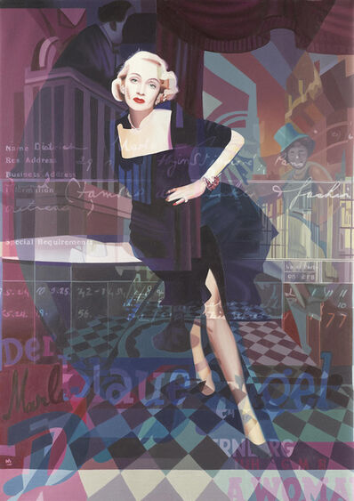 Stuart McAlpine Miller, 'Marlene Dietrich: Into My World', 2018