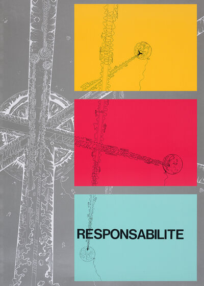 Timothée Calame, 'Responsabilité (Pouvoir, Parole), avec Léo Bachiri Wadimoff ', 2019