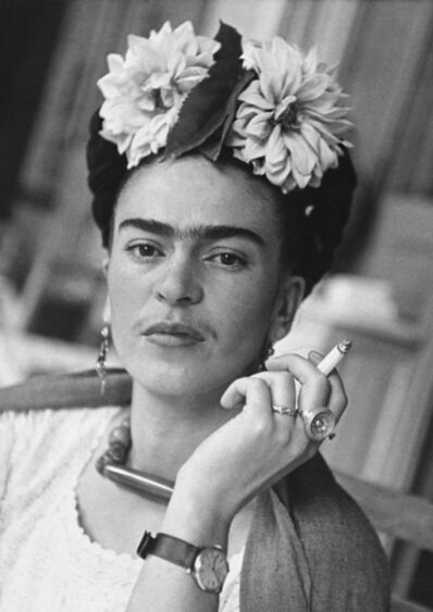Nickolas Muray, 'Frida With Cigarette, Coyoacan', 1941