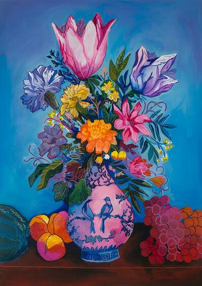 John Holcomb, 'True Blue Floral No. 2', 2020