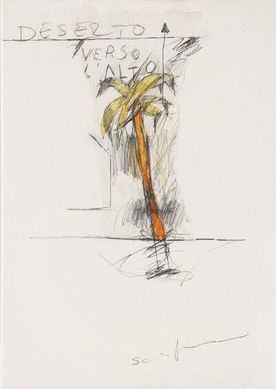 Mario Schifano, 'Deserto Verso L'Alto', 1970