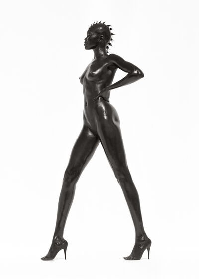 "Herb Ritts, '""Alek Wek, Los Angeles, 1998""', 1998"