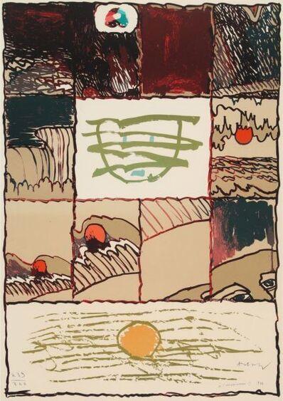Pierre Alechinsky, 'A l'imprimerie II ', 1976