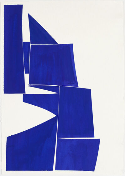 Joanne Freeman, 'Covers 24 x 18 Blue', 2016