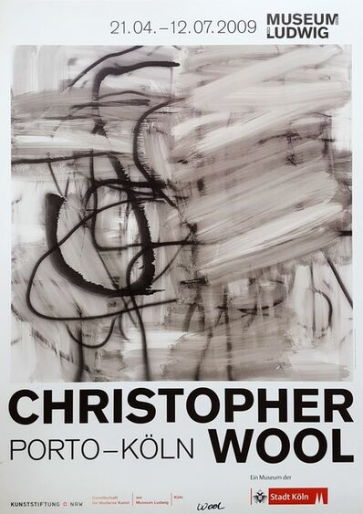 Christopher Wool, 'Christopher Wool: Porto - Köln (Signed)', 2009