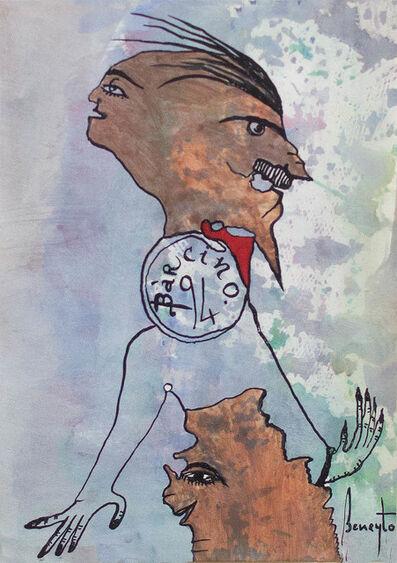 Antonio Beneyto, 'Díptico Beneytiano 1', 1994