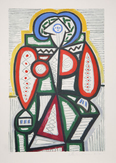 Pablo Picasso, 'Femme Assise', 1979-1982