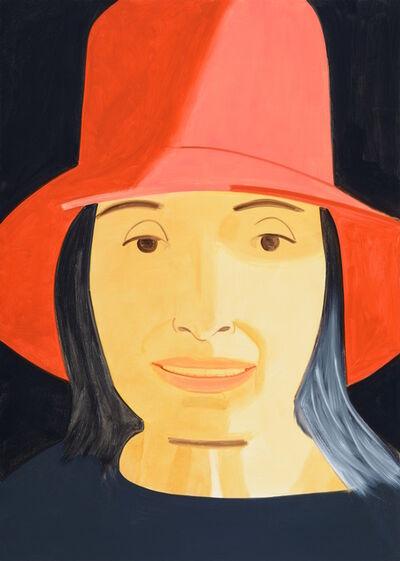 Alex Katz, 'Red Hat (Ada)', 2013