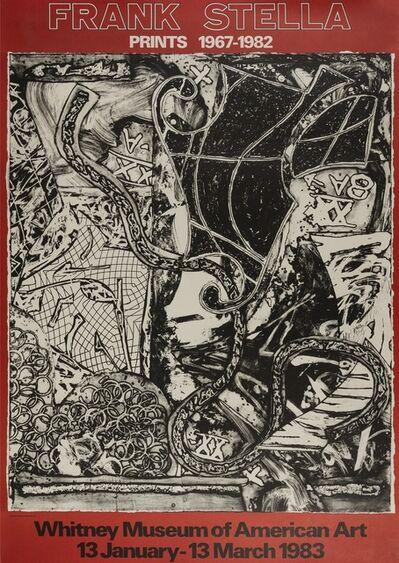 Frank Stella, 'Prints 1967-1982', 1983
