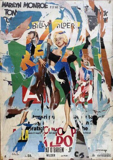 Mimmo Rotella, 'MARILYN', 1969 -1989