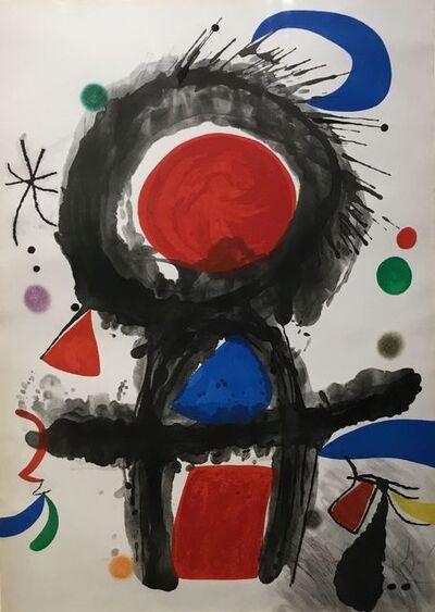 Joan Miró, 'Pic De La Mirandole (D761).', 1975