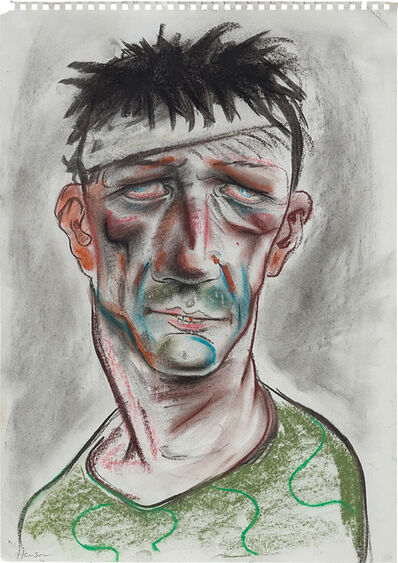 Peter Howson, 'Muslim Fighter on Drugs', 1993-1994