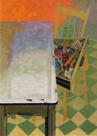 Frederick Hagan, 'Jenny Bell's Kitchen Table', 1971