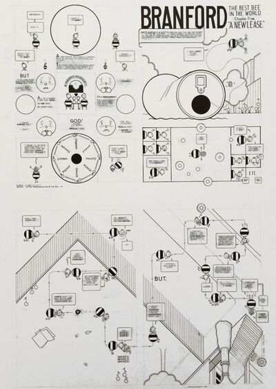 """Chris Ware, 'Branford The Best Bee in the World - Chapter Five - """"A New Lease""""', 2011"""