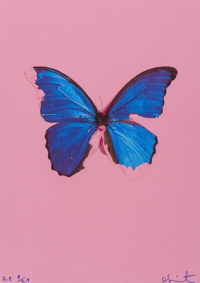 Damien Hirst, 'Blue Butterfly (From In the Darkest Hour There May Be Light)', 2006