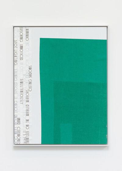 Matthew Brannon, 'Marble Countertop,', 2012
