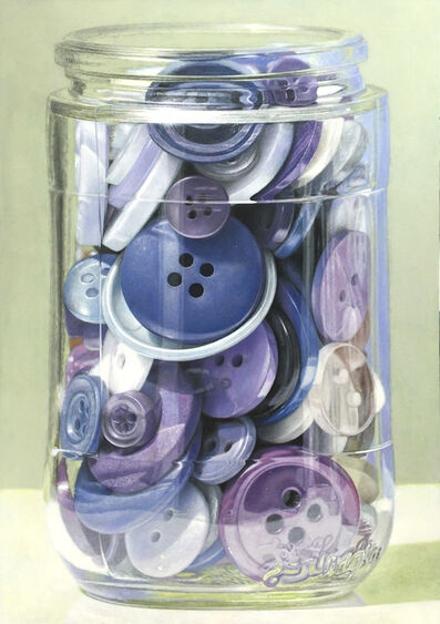 Greg Haynes, 'Purple Buttons', 2020