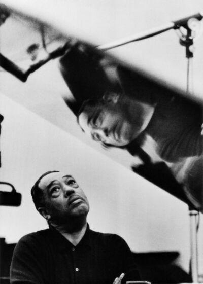 Gordon Parks, 'Duke Ellington Listening to Playback, Los Angeles, California', 1960