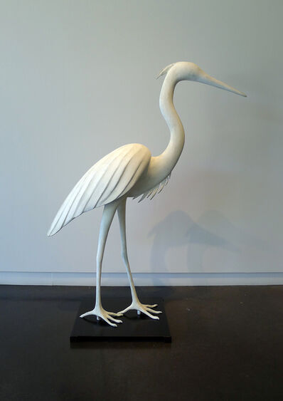 Gwynn Murrill, 'Medium Heron 2/6'