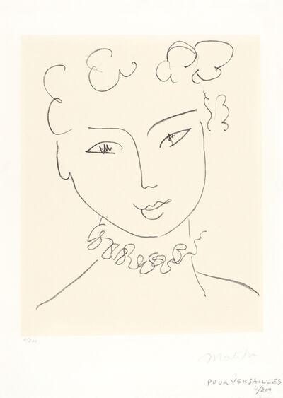 Henri Matisse, 'Madame Pompadour', 1951