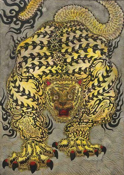 Kaneko Tomiyuki, 'Messenger of Bishamon Temple 10', 2021