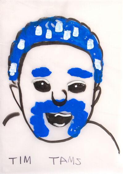 Thom Roberts, 'Ken Matt Blue Hair', 2018