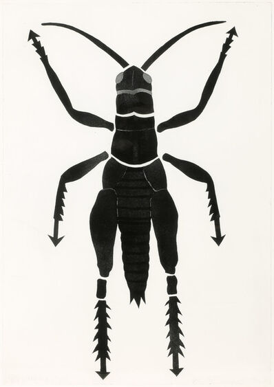 Kiki Kogelnik, 'Grasshopper', 1996