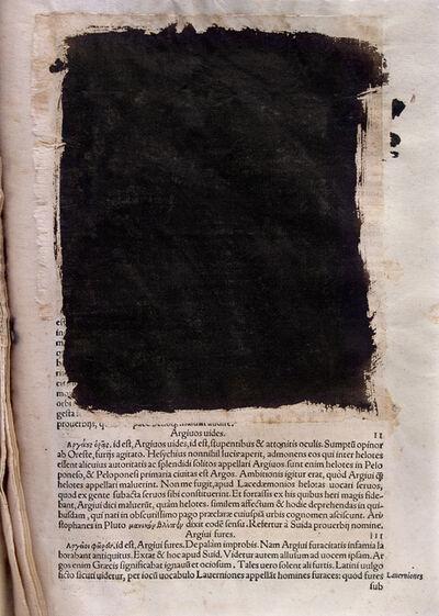 Joan Fontcuberta, 'Deletrix: Erasmus #4', 2006