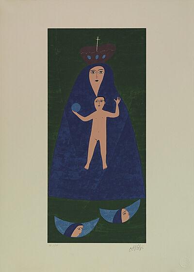 Alfredo Volpi, 'Nossa Senhora', 1970-1990