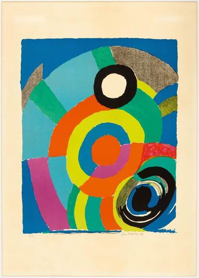 Sonia Delaunay, 'Tourbillion', 1979