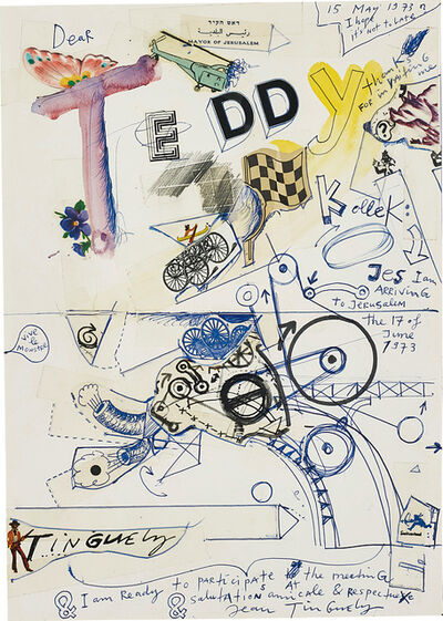Jean Tinguely, 'Untitled', 15 May 1973