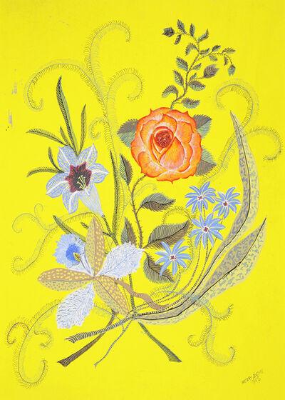 Godfrey Miller, 'Floral Study', c. 1960