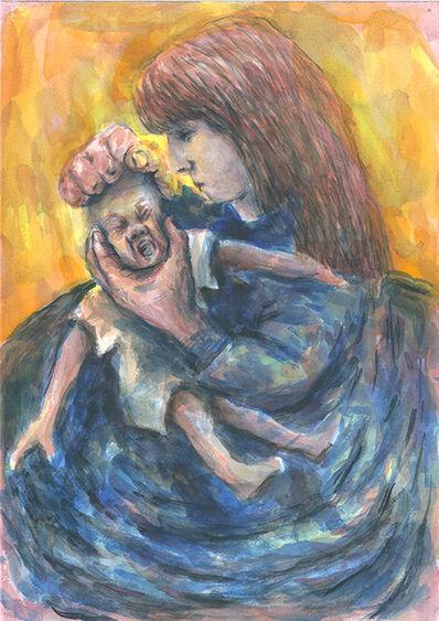 Raimund von Luckwald, 'Mutter mit Kind', 1996