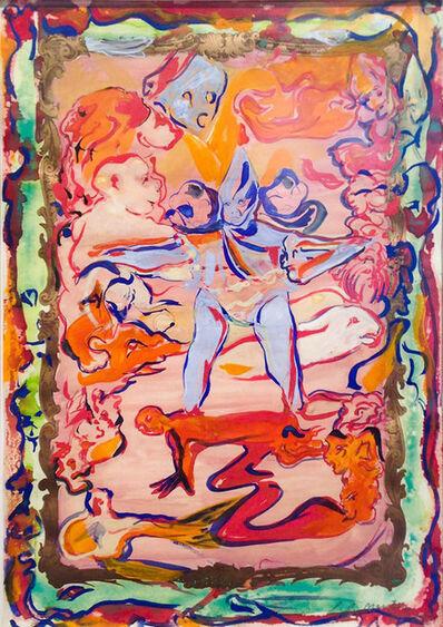 Lola Montes Schnabel, 'Baby blue', 2012