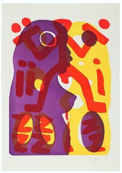 A.R. Penck, 'Serie II Du', 2000