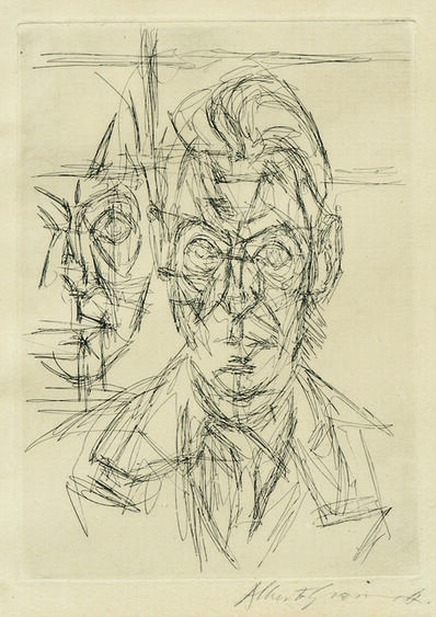 Alberto Giacometti, 'Frontispiece to Dans la chaleur vacante', 1961