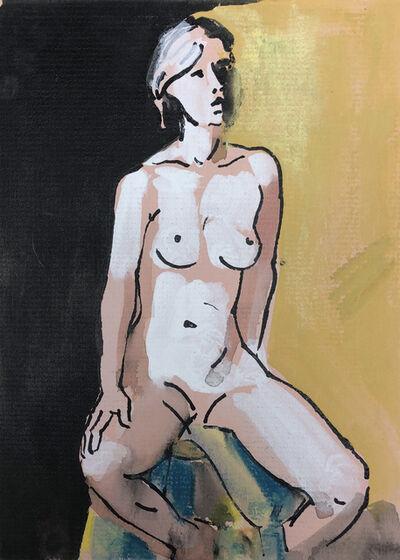 Teresa Baksa, 'Woman Sitting on a Stool', 1994