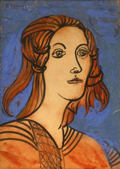 Benjamín Palencia, 'Cabeza (Head)', 1949