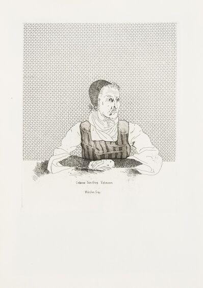 David Hockney, '33 plates, from Six Fairy Tales from the Brothers Grimm', 1970