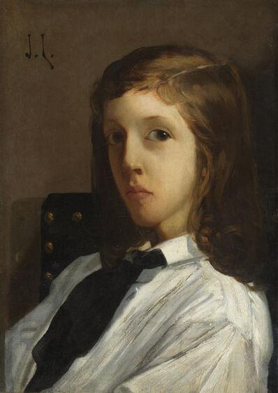 Jules Lefebvre, 'Portrait of Arthur Maguet', Early 1860s