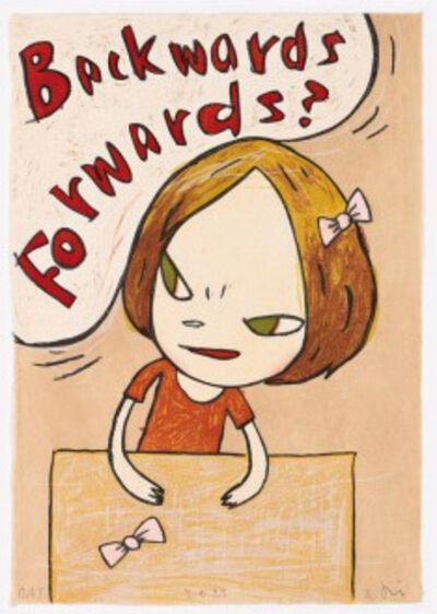 Yoshitomo Nara, 'Backwards Forwards', 2012