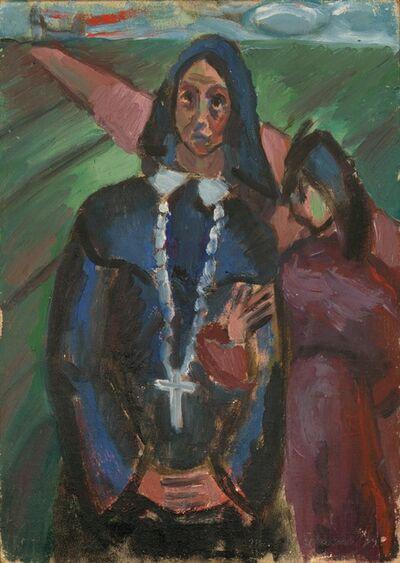 Mildred Elfman Greenberg, 'Mexican Nun (Pre-W.P.A. #9)', 1939
