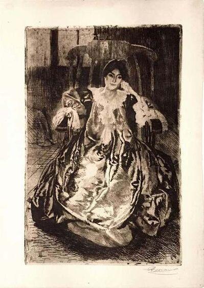 Albert Besnard, 'La Robe de Soie', 1887
