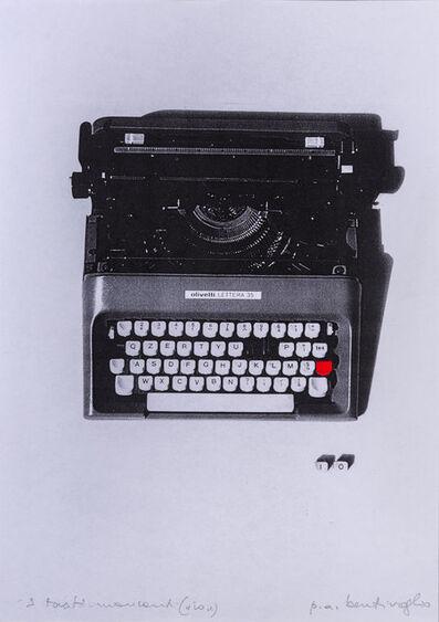Mirella Bentivoglio, 'I tasti mancanti (io)', 1996