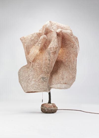 Nacho Carbonell, 'Pink Cocoon Concrete Base 4', 2017